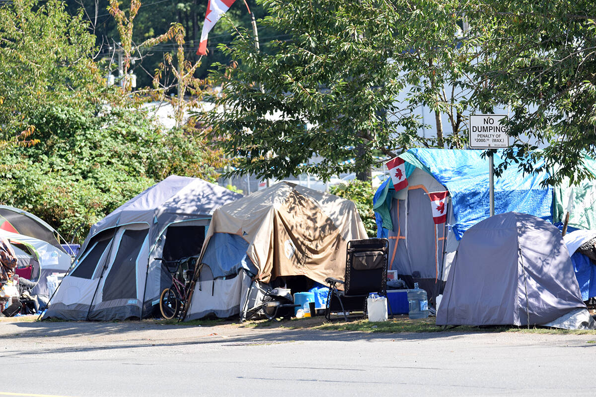 Federal funding totalling $1.3 million has been allocated to 12 projects in Abbotsford that are focused on reducing homelessness in the community. (Abbotsford News file photo)